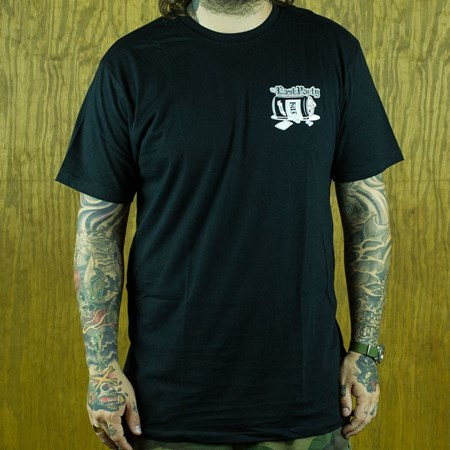 HUF The Last Party T Shirt Black in stock now.
