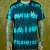 HUF Static Wash Classic H T Shirt Jade