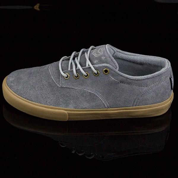 Dekline Jaws Shoes Mid Grey, Gum