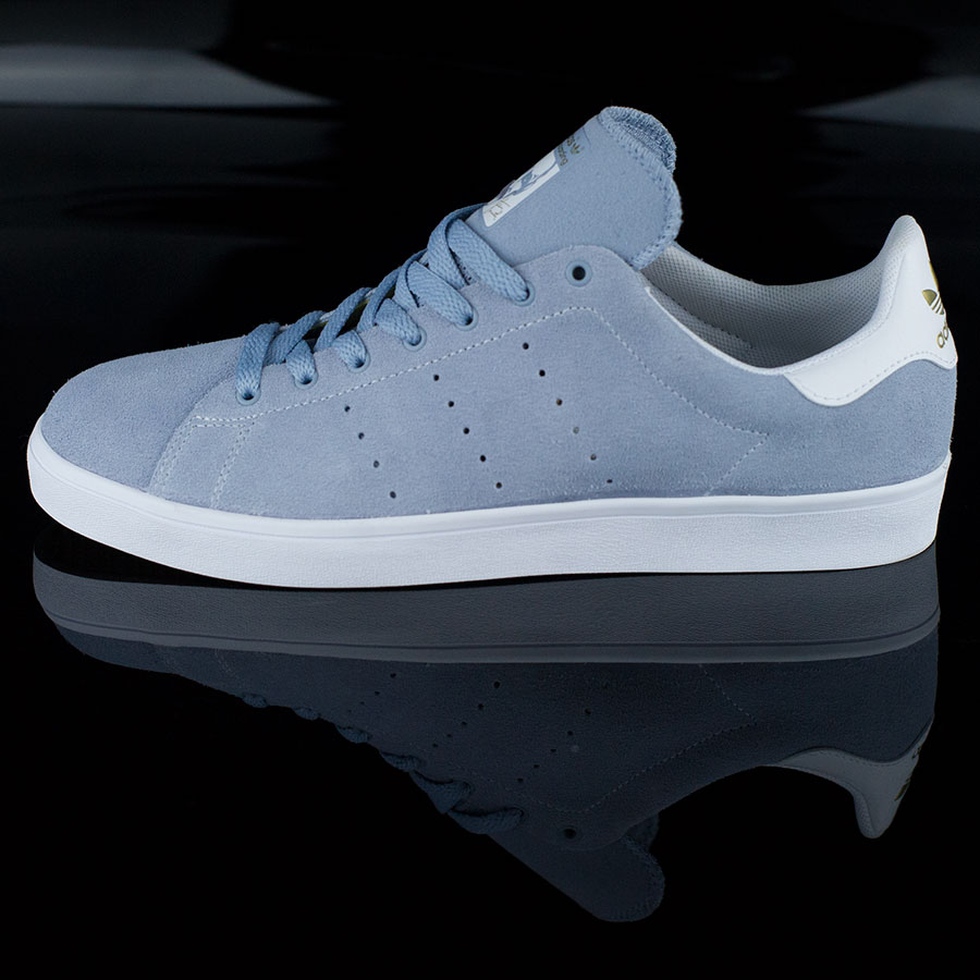 Dust Blue, White Shoes Stan Smith Vulc Shoes in Stock Now