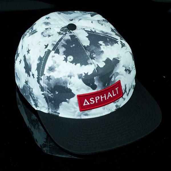 Asphalt Yacht Club Clash Snap Back Hat Black, White