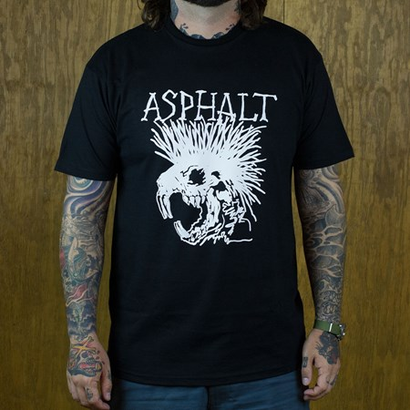 Asphalt Yacht Club Wattie T Shirt Black