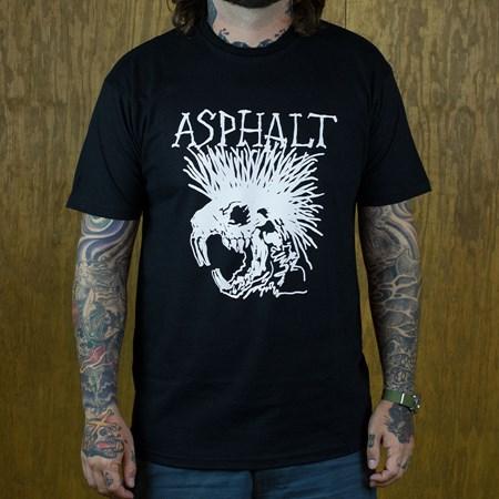 Asphalt Yacht Club Wattie T Shirt Black