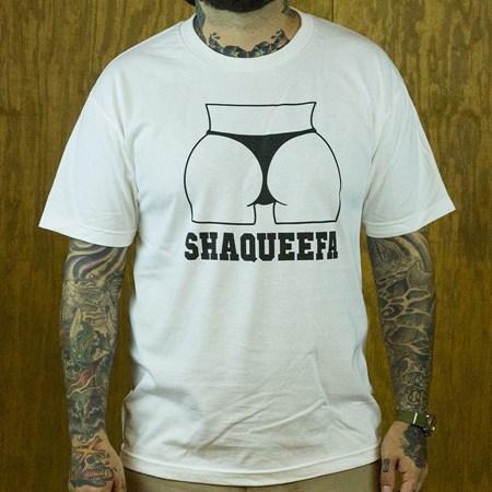 Shaqueefa OG Booty Logo T Shirt White