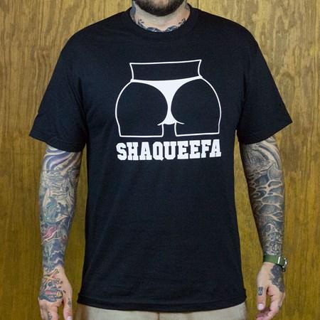 Shaqueefa OG Booty Logo T Shirt Black