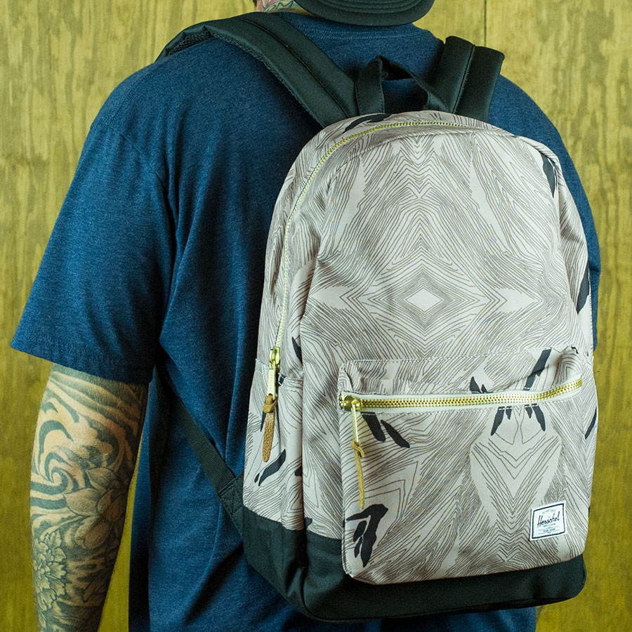 Geo, Black Backpacks and Bags Settlement Backpack in Stock Now