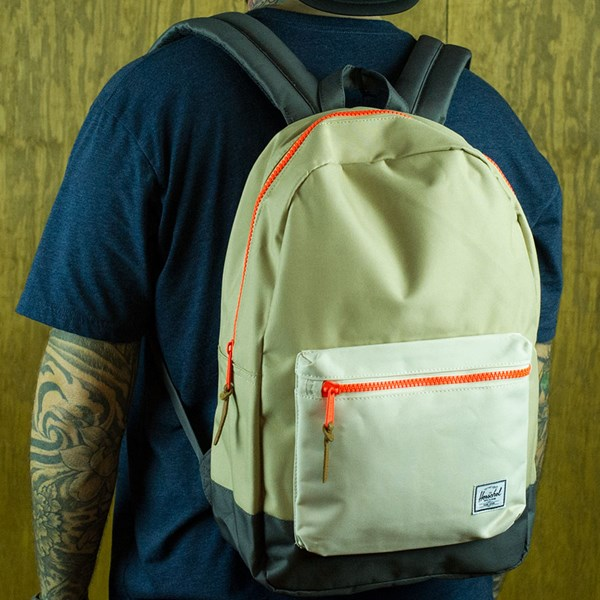 Herschel Settlement Backpack Khaki, Bone, Copper