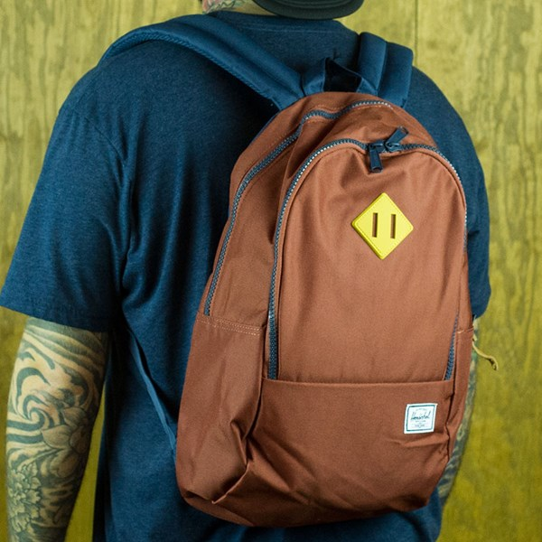 Herschel Nelson Backpack Rust, Navy, Copper