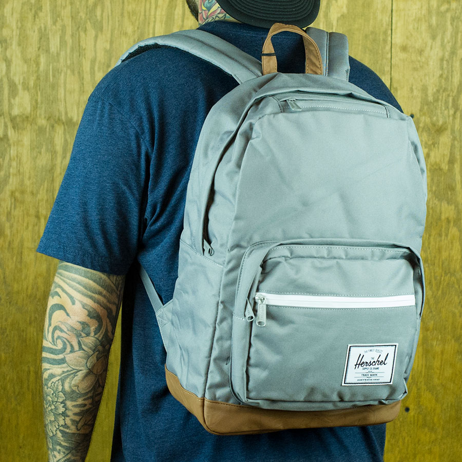 Grey Backpacks and Bags Pop Quiz Backpack in Stock Now