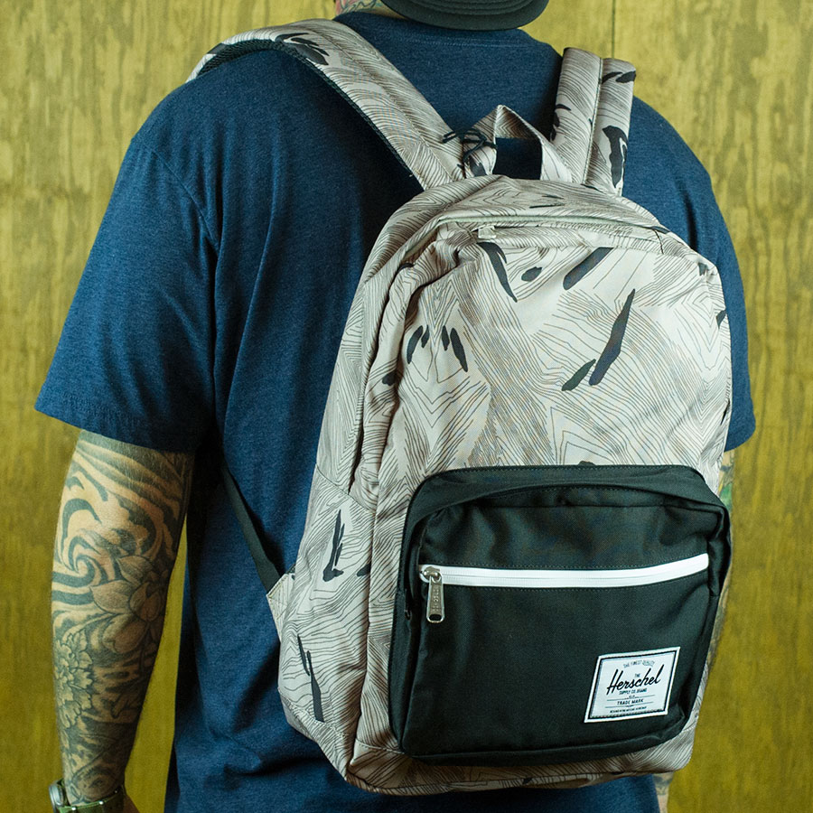 Geo, Black Backpacks and Bags Pop Quiz Backpack in Stock Now