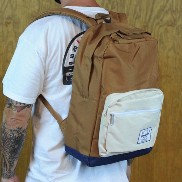 f4d0efeb2fa Herschel Pop Quiz Backpack Caramel