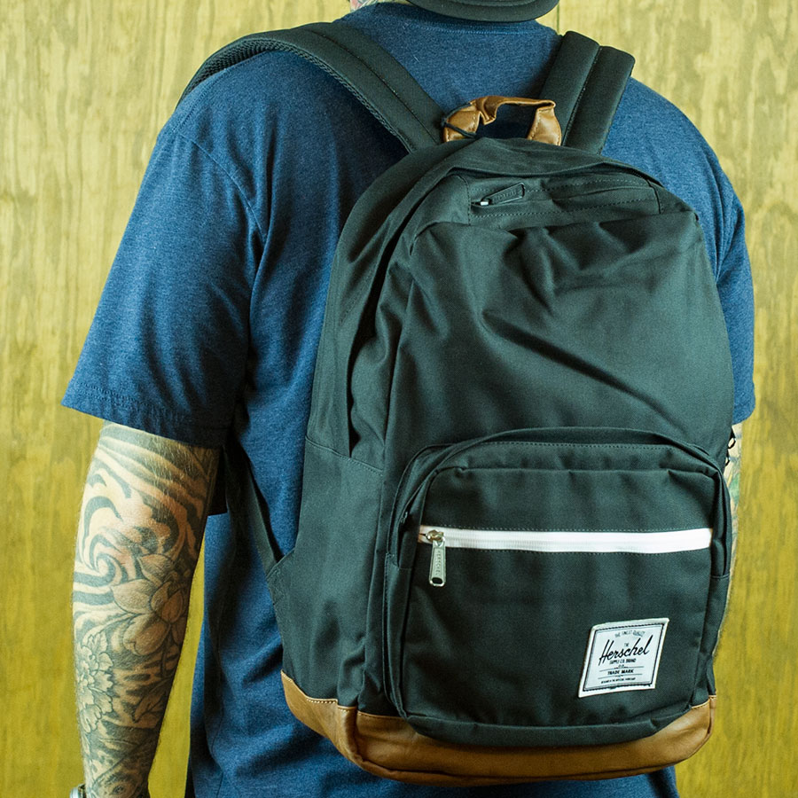 Black Backpacks and Bags Pop Quiz Backpack in Stock Now
