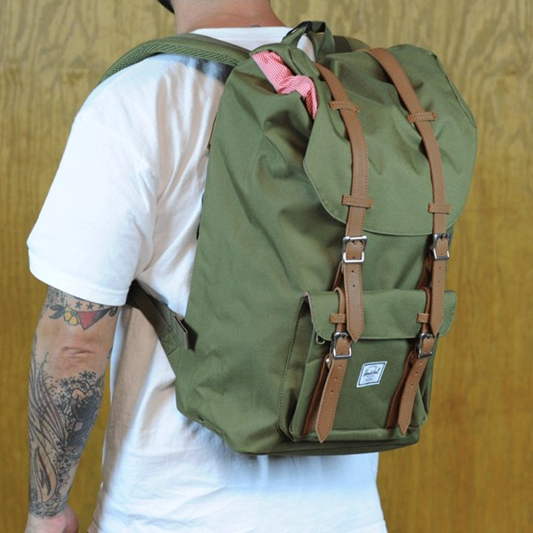 Herschel Little America Backpack Army