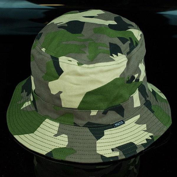 Matix Mediums Bucket Hat Woodland Camo