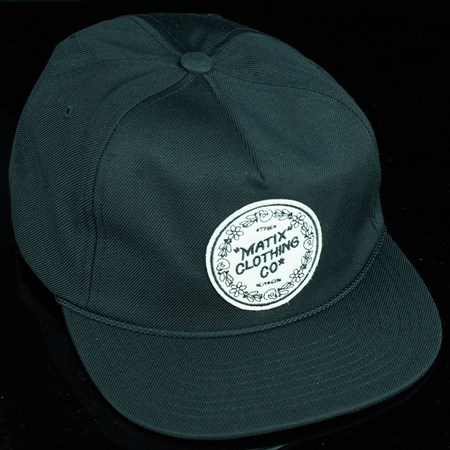 Matix Gravediggers Snap Back Hat Black