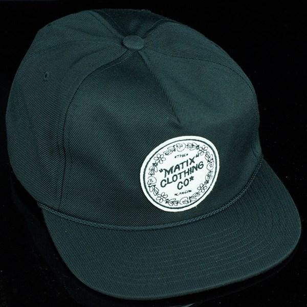 Matix Gravediggers Snap Back Hat Black