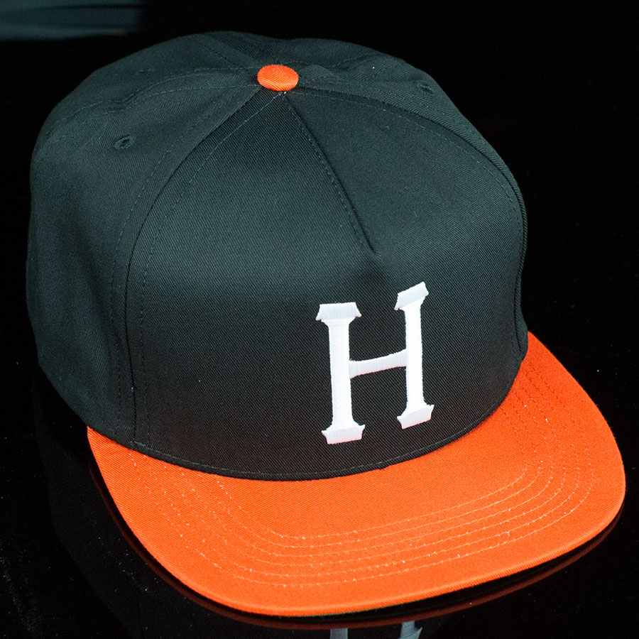 Black, Orange Hats and Beanies Classic H Snap Back Hat in Stock Now