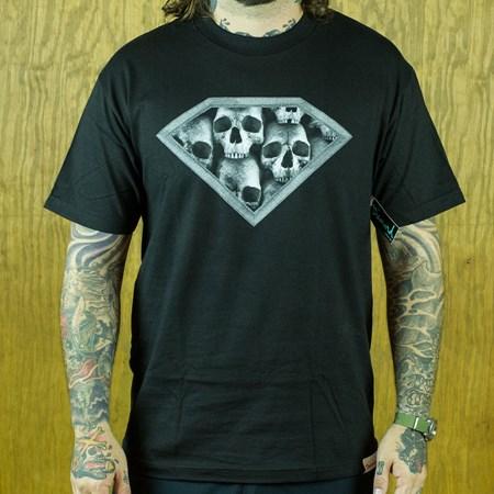 Diamond DMND Skulls T Shirt Black