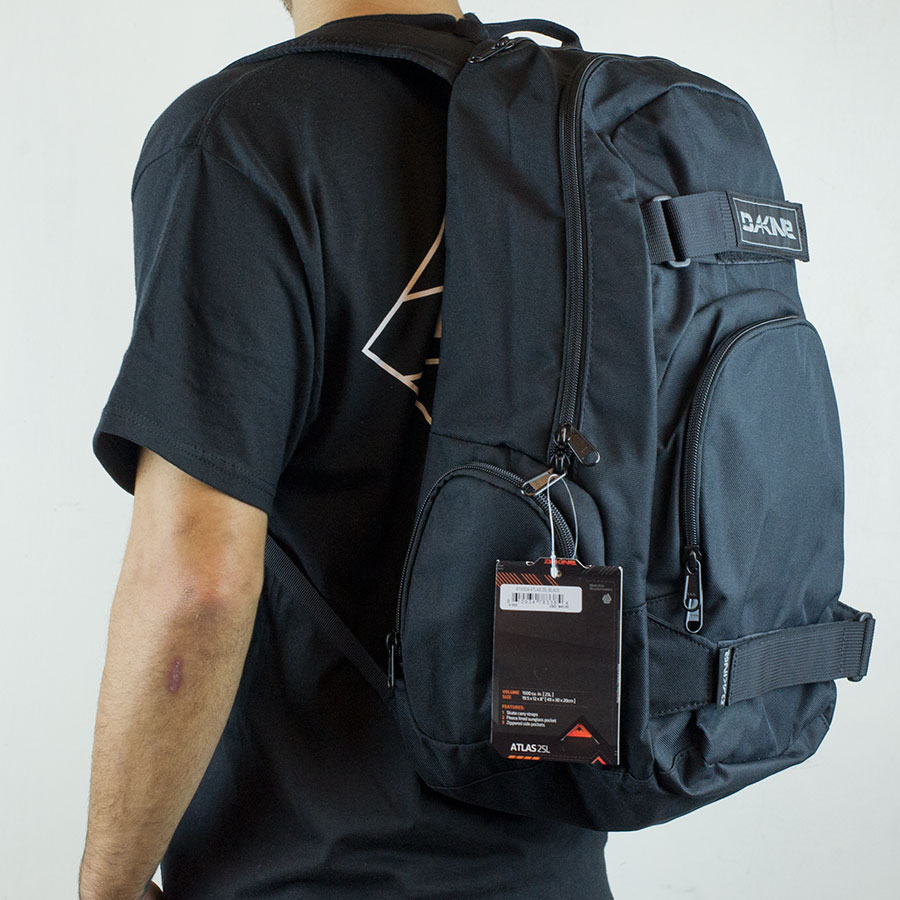 Black Backpacks and Bags Atlas Backpack in Stock Now