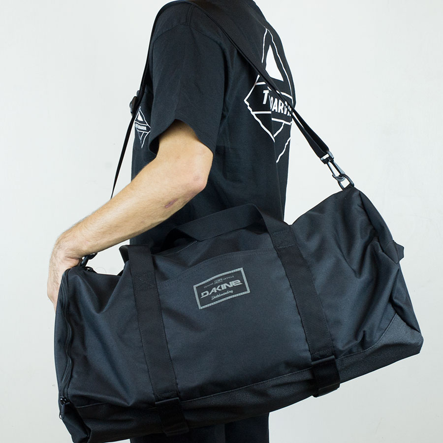 Black Backpacks and Bags Park Duffel Bag in Stock Now