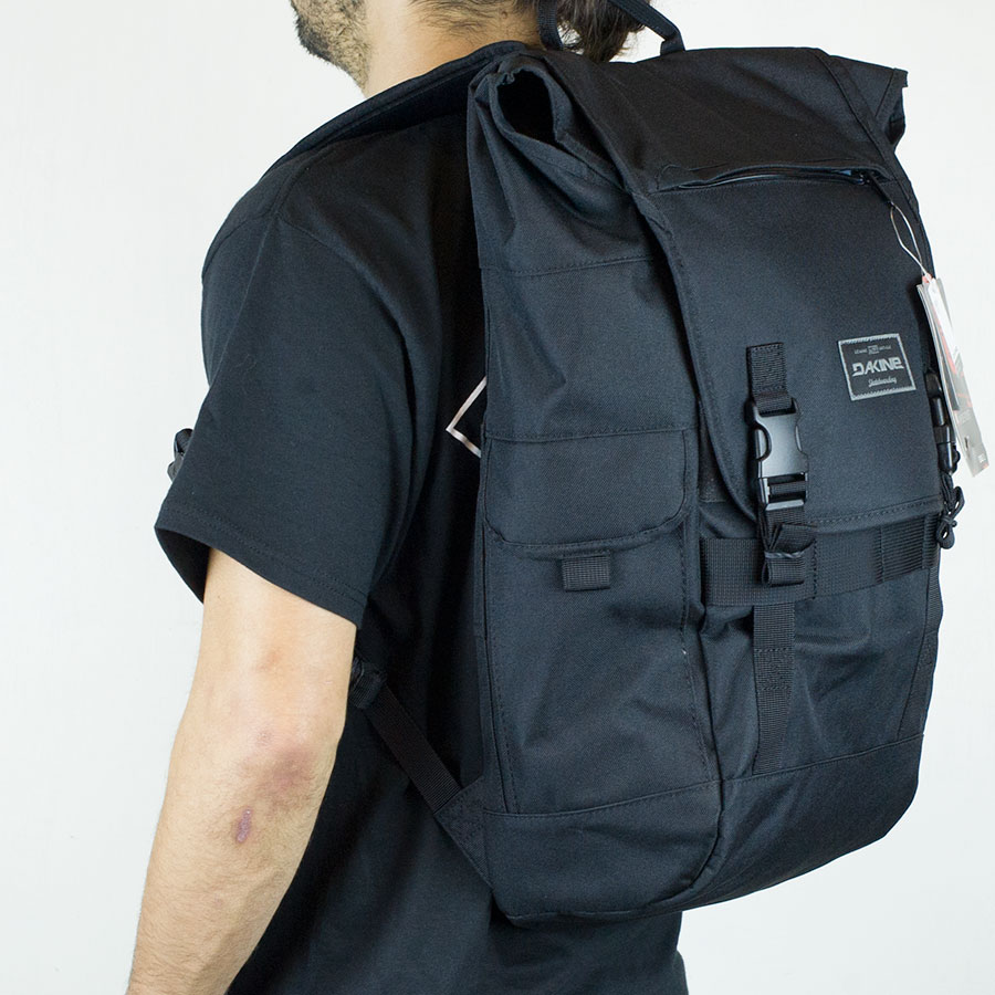 Black Backpacks and Bags Ledge Backpack in Stock Now