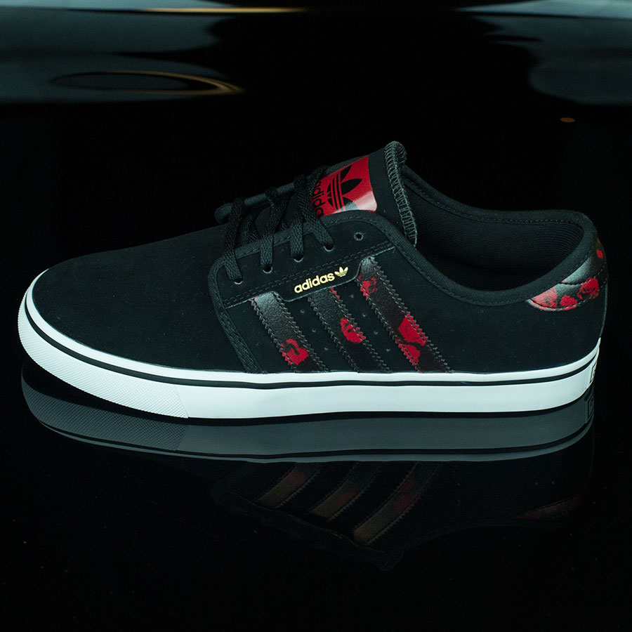 Black, Power Red, White Shoes Seeley Shoes in Stock Now
