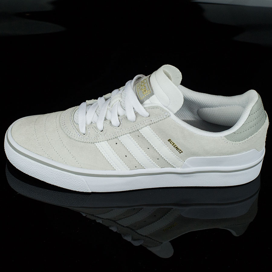 White, White, Solid Grey Shoes Dennis Busenitz Vulc Shoes in Stock Now