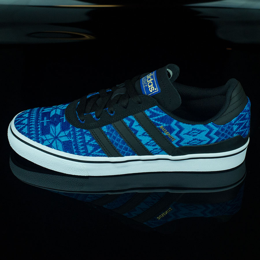 Collegiate Royal, Black Shoes Dennis Busenitz Vulc Shoes in Stock Now