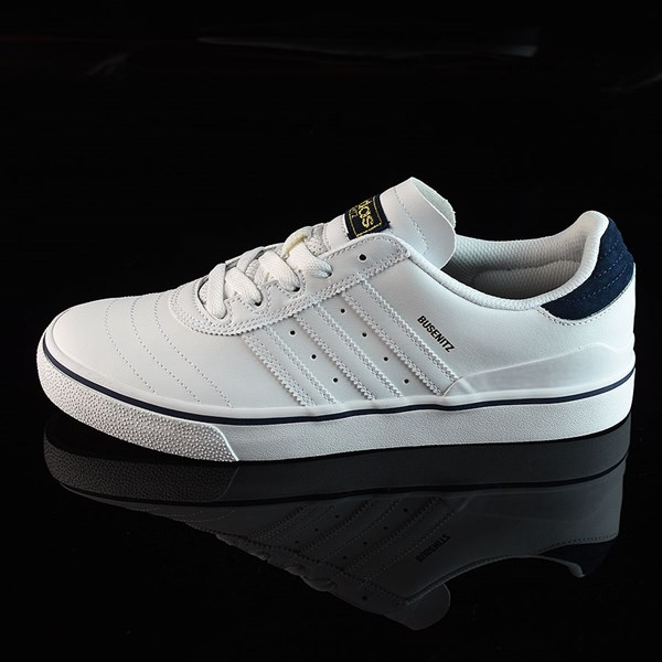 adidas Dennis Busenitz Vulc Shoes Running White, White, Navy