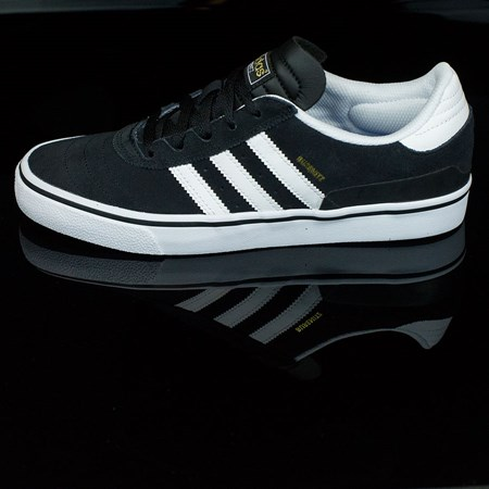 adidas Dennis Busenitz Vulc Shoes Black, Running White, Black