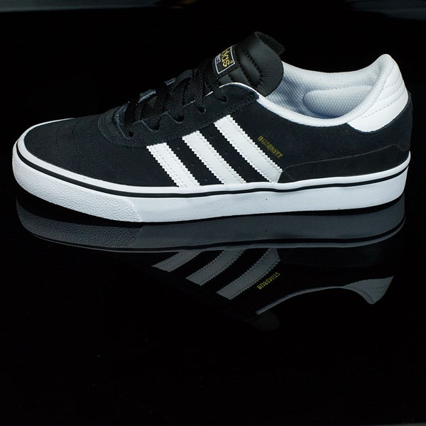 adidas Dennis Busenitz Vulc Shoes Black, Running White, Black