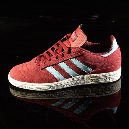 adidas Dennis Busenitz Signature Shoes Burgundy, Clear Blue