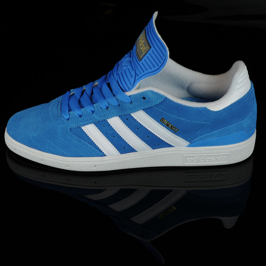 Solar Blue, Running White, Metallic Gold Shoes Dennis Busenitz Signature Shoes in Stock Now