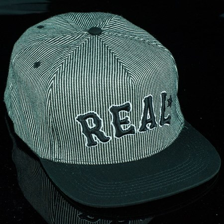 Real On Deck Snap Back Hat Black