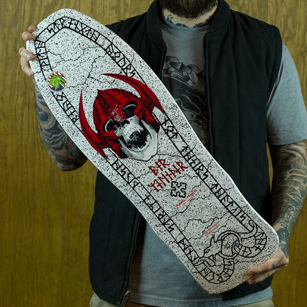 Powell Peralta Per Welinder Street Classic Reissue Deck White