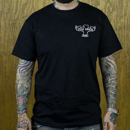 Cycle Zombies Winger T Shirt Black