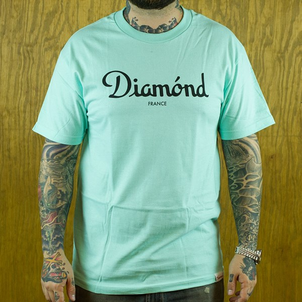 Diamond Champagne T Shirt Diamond Blue