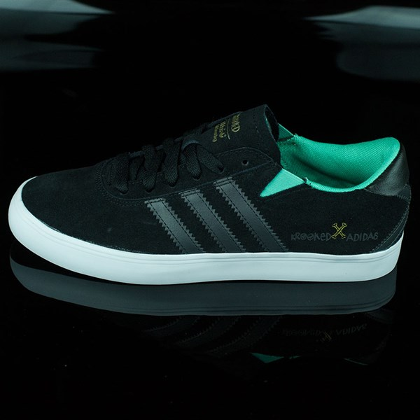 adidas adidas X Krooked Gonz Pro Shoes Black, Solo Mint