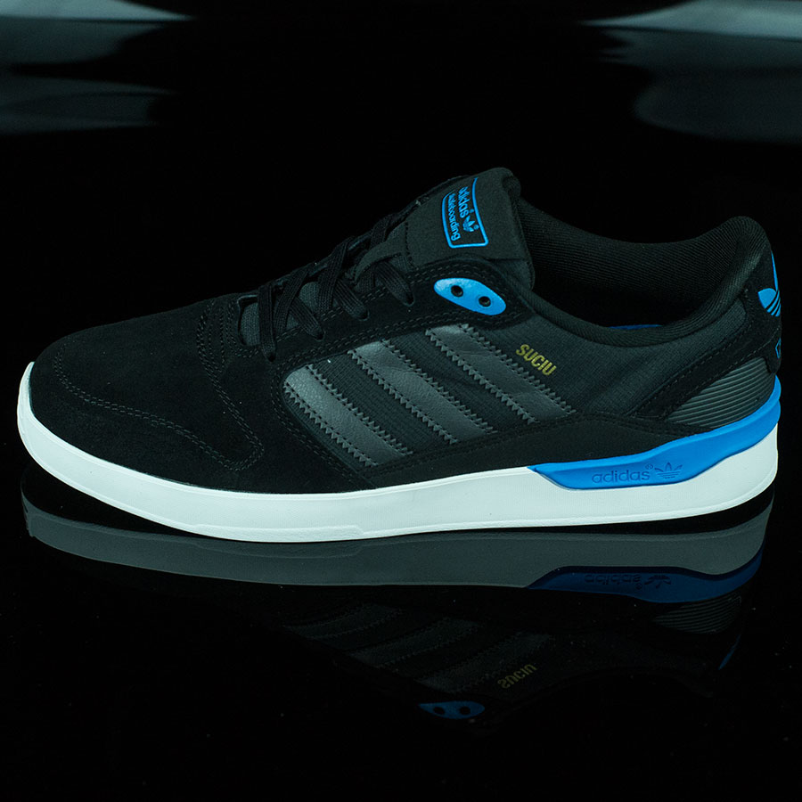 Black, Dark Solid Grey, Suciu Shoes ZX Vulc Shoes in Stock Now