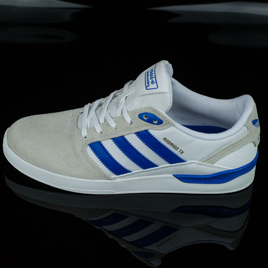 White, Bluebird, Rodrigo Tx Shoes ZX Vulc Shoes in Stock Now