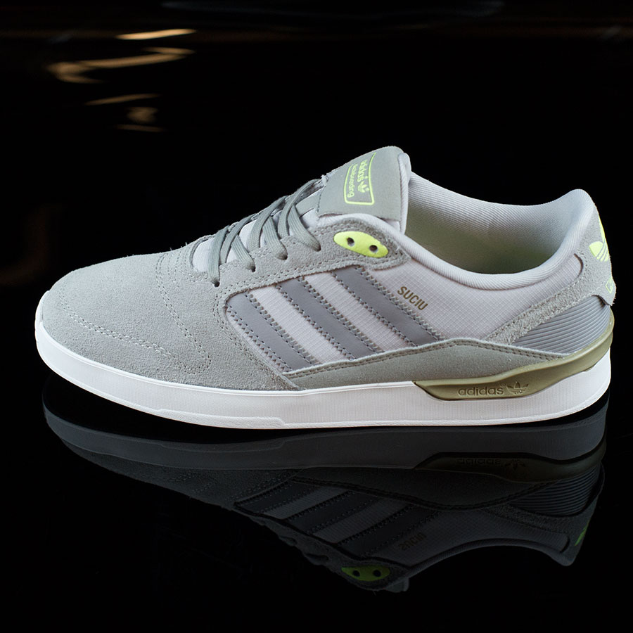 Solid Grey, Light Onyx, Suciu Shoes ZX Vulc Shoes in Stock Now