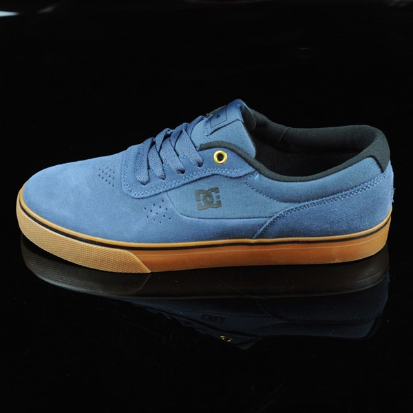DC Shoes Switch Shoes Dark Denim, Gum