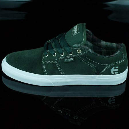 etnies Barge LS Shoes Forest Green in stock now.