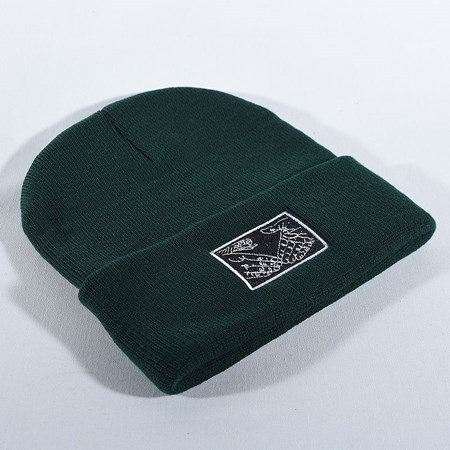 Doom Sayers Snake Shake Beanie Olive in stock now.