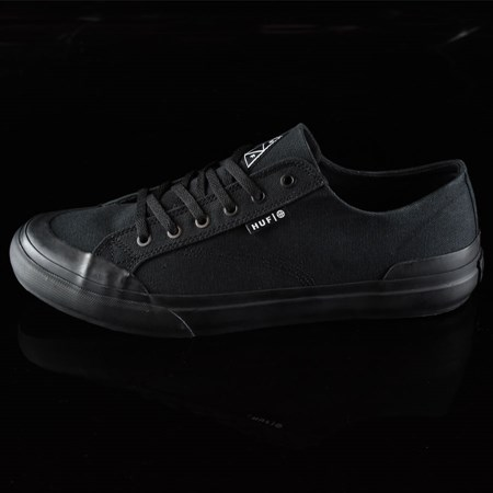 HUF Classic Lo Shoes Black, Black