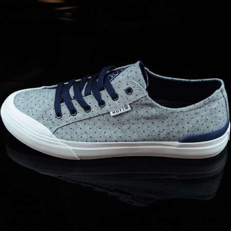 Size 9 in HUF Classic Lo Shoes, Color: Navy Dot