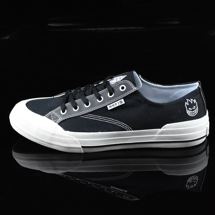 Black, White, Spitfire Shoes Classic Lo Shoes in Stock Now