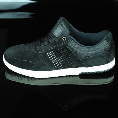 Size 9 in HUF Hufnagel 2 Shoes, Color: Black, Bone White