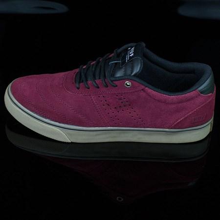 HUF Galaxy Shoes Oxblood, Dark Gum