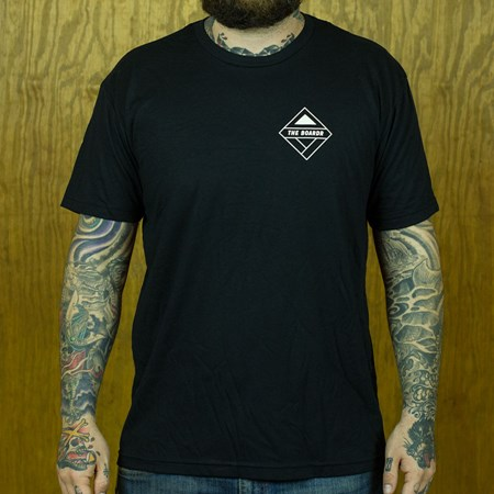 The Boardr The Boardr Logo T Shirt Black